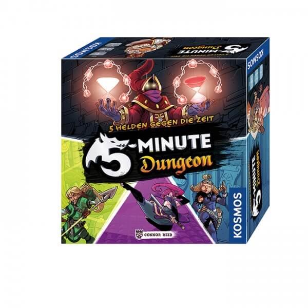 Schachtel Vorderseite- 5-Minute Dungeon