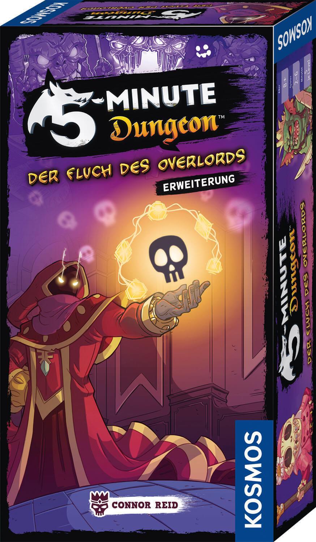 Schachtel Vorderseite- 5-Minute Dungeon: Der Fluch des Overlords