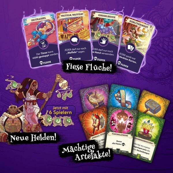 Teaser Spielkarten- 5-Minute Dungeon: Der Fluch des Overlords