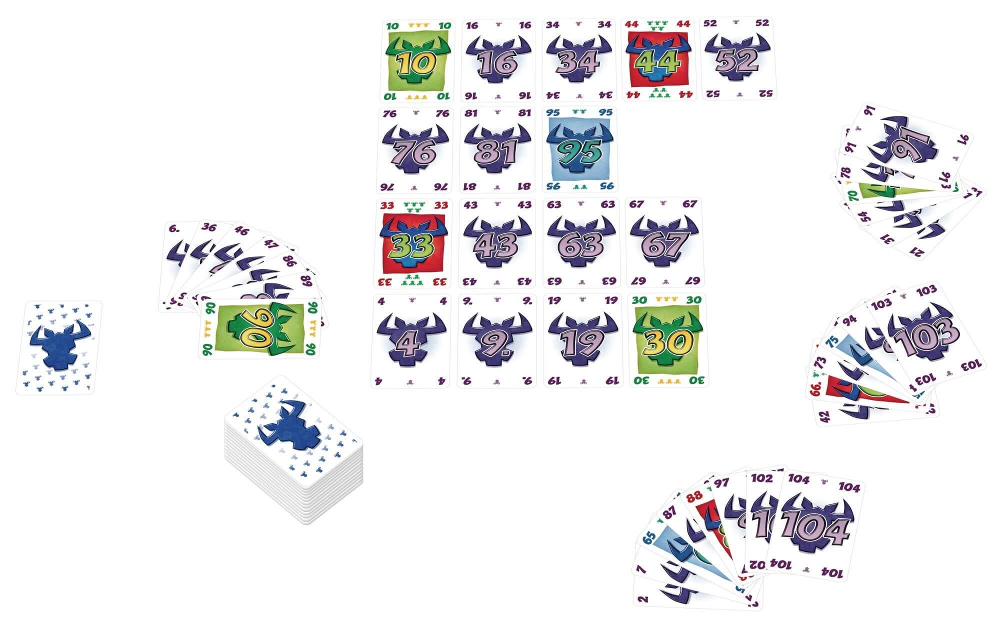 Spielkarten- 6 nimmt!