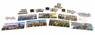 Spielmaterial- 7 Wonders