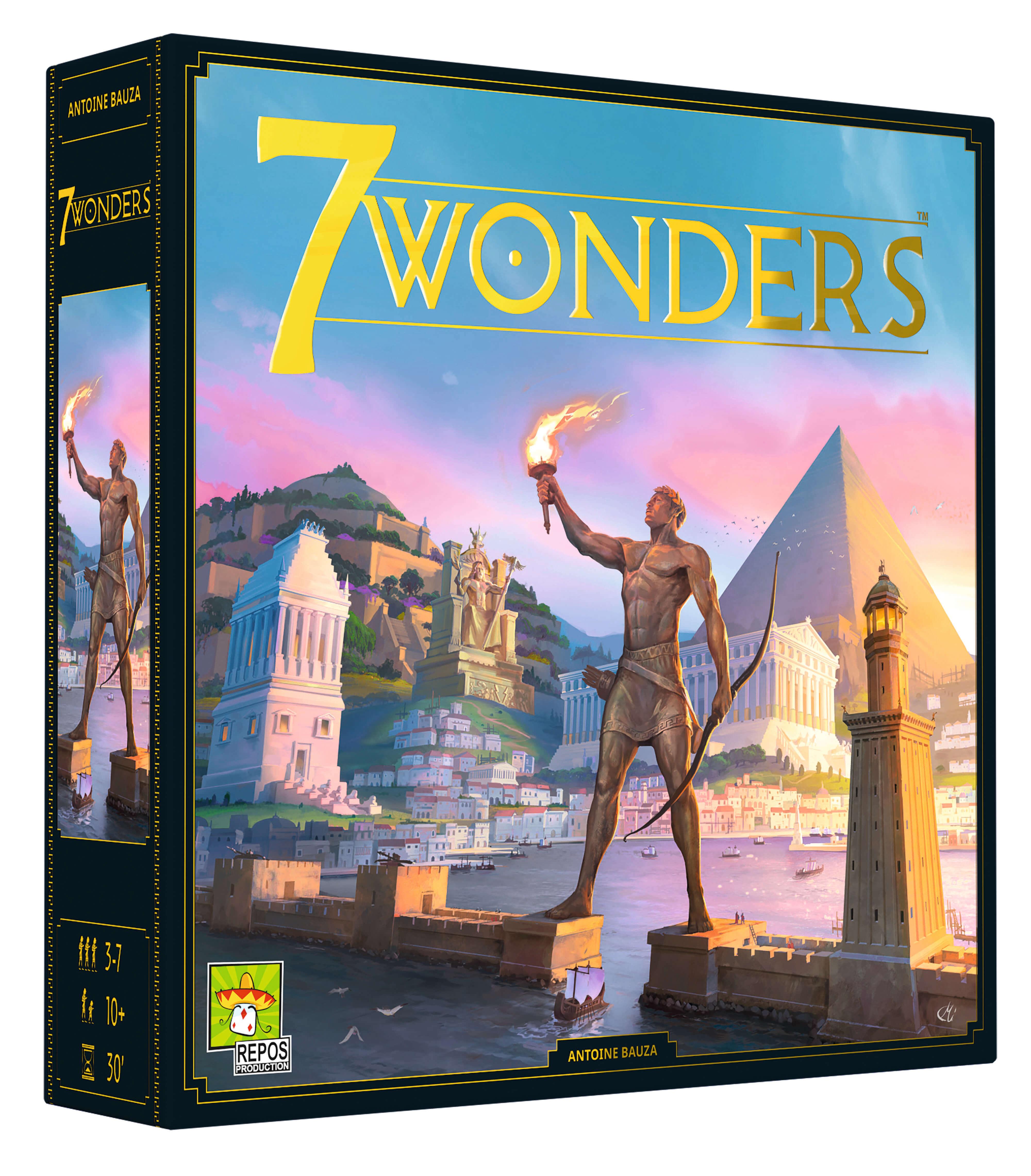 Schachtel Vorderseite- 7 Wonders