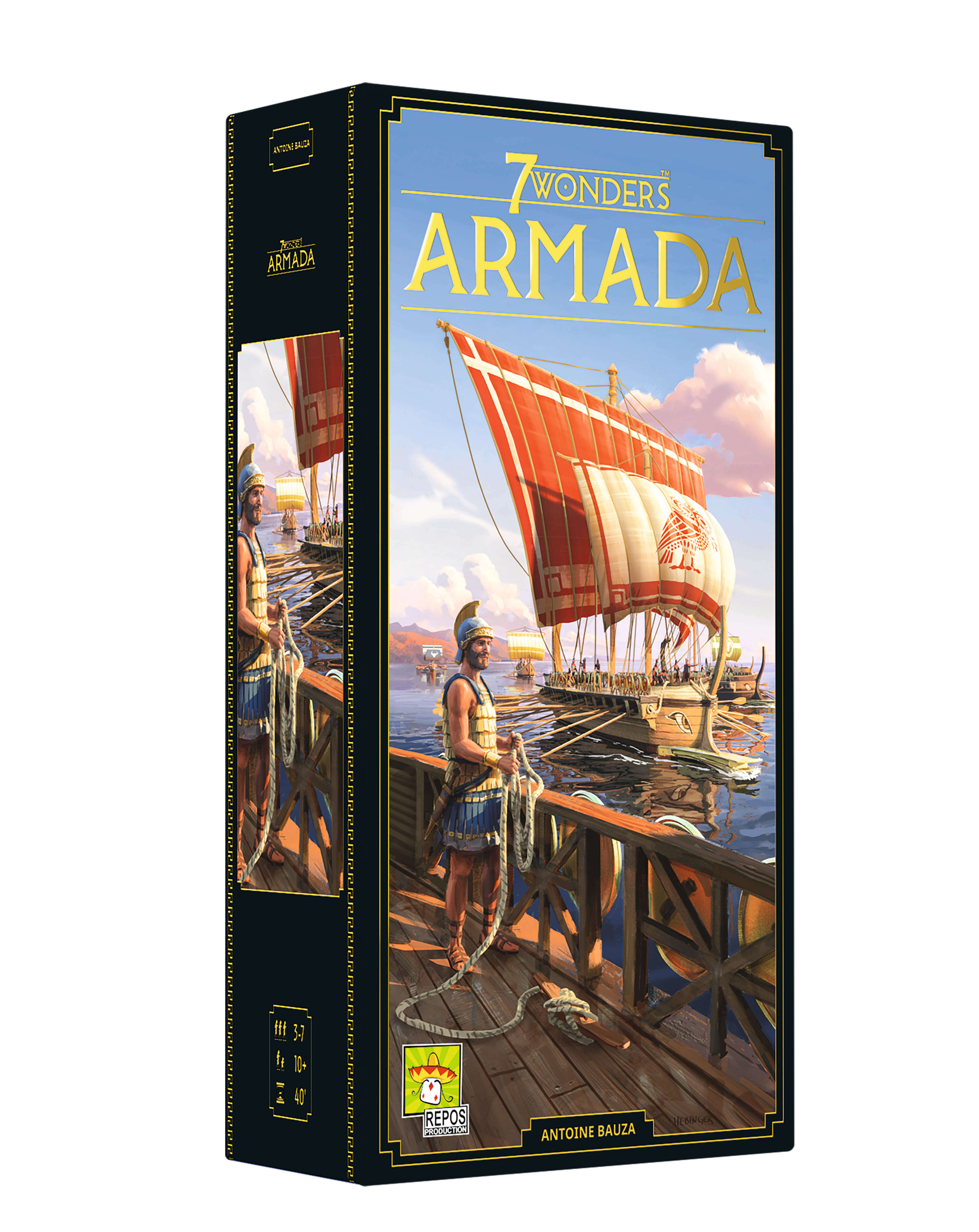 Schachtel Vorderseite- 7 Wonders - Armada