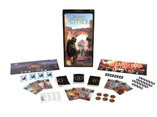 Spielmaterial- 7 Wonders - Cities