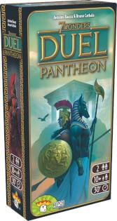 Schachtel Vorderseite - Erweiterung- 7 Wonders Duel - Pantheon