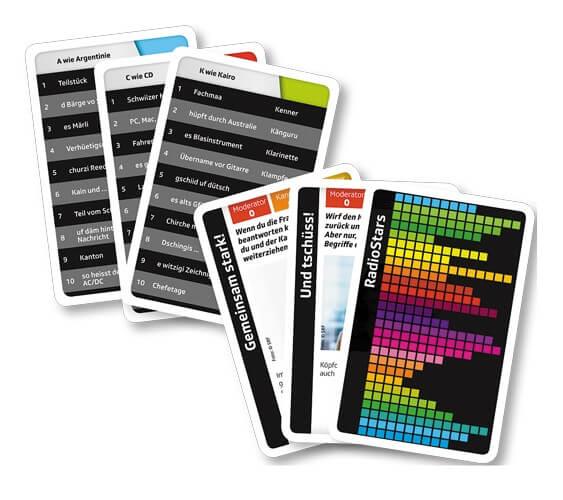 Spielkarten- ABC SRF 3 Original