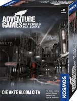 Schachtel Vorderseite, rechte Seite - Adventure Games - Die Akte Gloom City