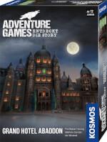 Schachtel Vorderseite, rechte Seite - Adventure Games - Grand Hotel Abaddon