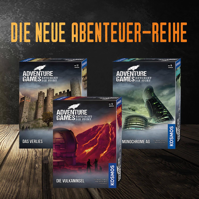 Spielereihe- Adventure Games - Die Monochrome AG