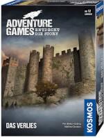 Schachtel Vorderseite, rechte Seite - Adventure Games - Das Verlies