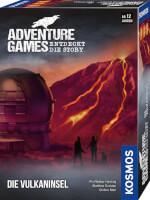 Schachtel Vorderseite, rechte Seite - Adventure Games - Die Vulkaninsel