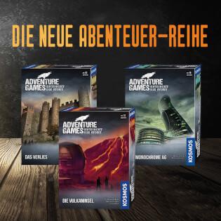 Spielereihe- Adventure Games - Die Vulkaninsel