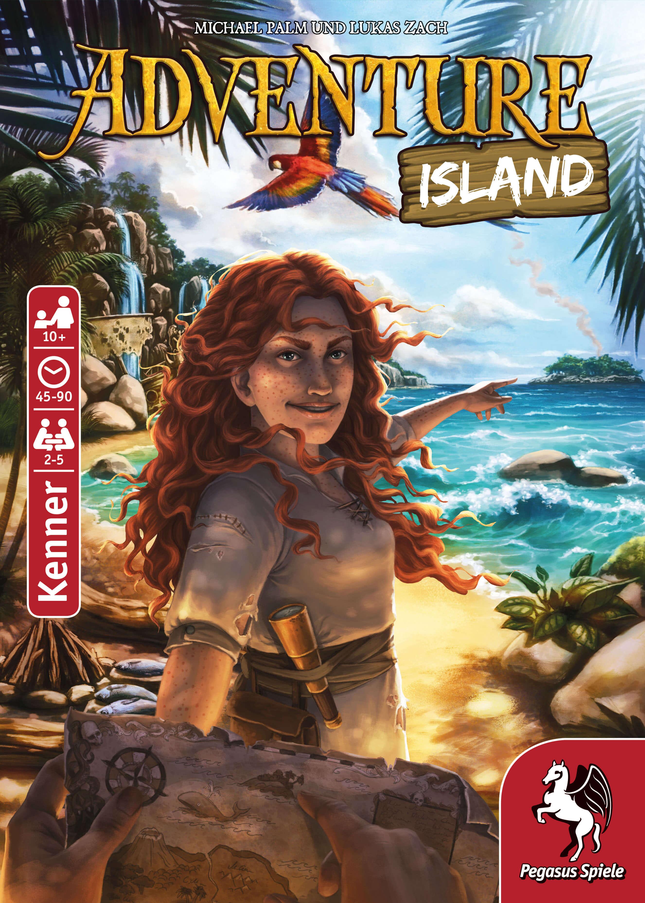 Schachtel Vorderseite- Adventure Island