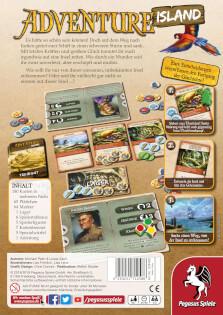 Schachtel Rückseite- Adventure Island