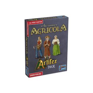Schachtel Vorderseite- Agricola: Artifex Deck