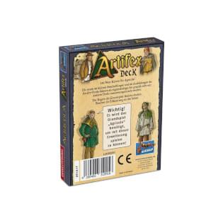 Schachtel Rückseite- Agricola: Artifex Deck