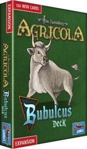 Schachtel Vorderseite- Agricola: Bubulcus Deck