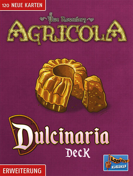 Schachtel Vorderseite- Agricola: Dulcinaria Deck