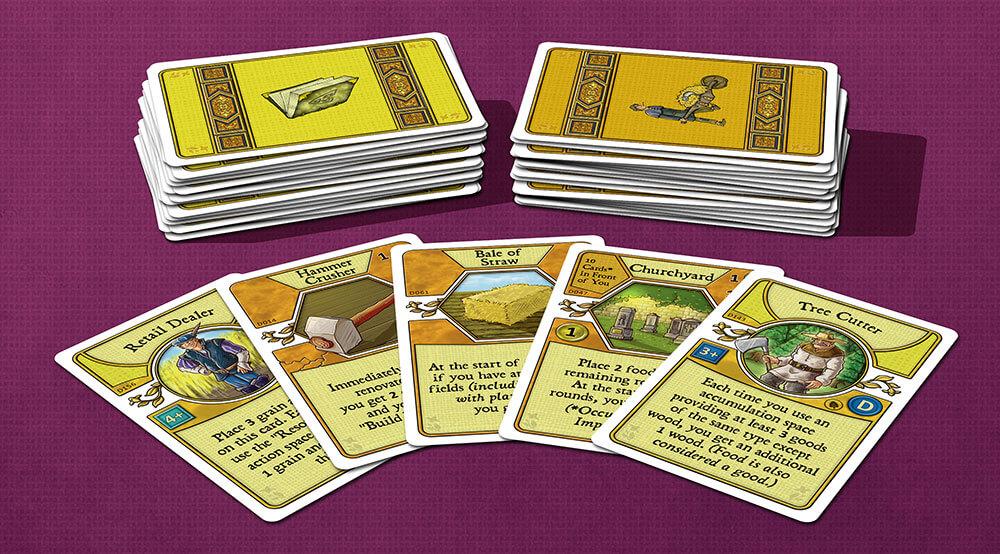 Spielmaterial- Agricola: Dulcinaria Deck