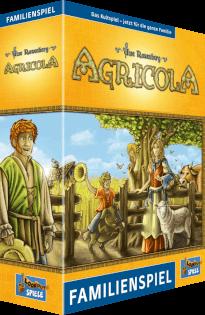 Schachtel Vorderseite- Agricola - Familienspiel