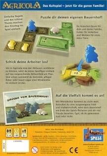 Schachtel Rückseite- Agricola - Familienspiel