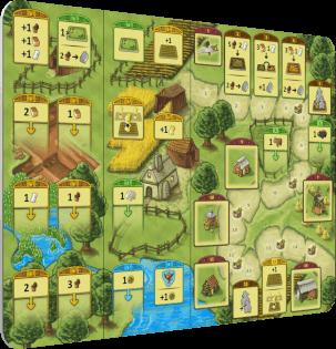 Spielbrett- Agricola - Familienspiel