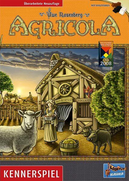 Schachtel Vorderseite- Agricola - Kennerspiel