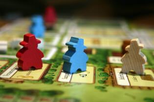 Spielbrett - Familienmitglieder im Detail- Agricola - Kennerspiel