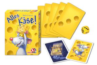 Schachtel und Karten- Alles Käse