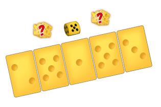 Karten und Würfel - Alles Käse