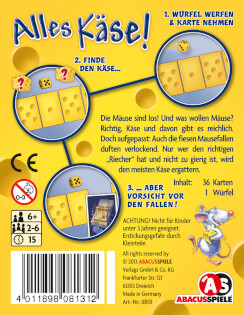Schachtel Rückseite- Alles Käse