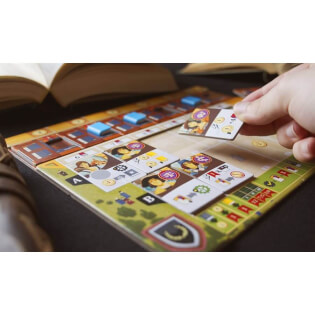 Spielmaterial mit Hand- Alma Mater