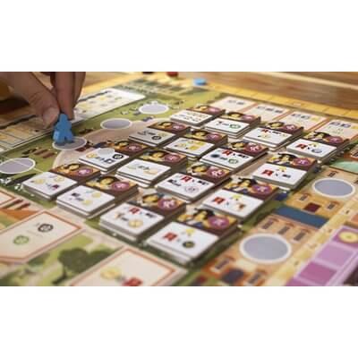 Spielmaterial Karten mit Hand und Figur- Alma Mater