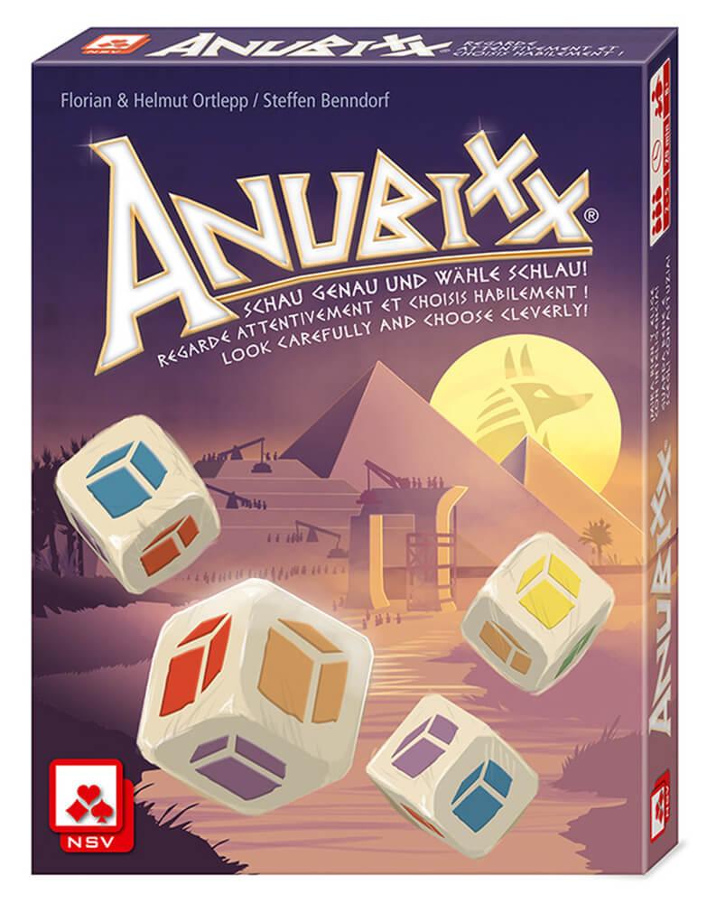 Schachtel Vorderseite- Anubixx