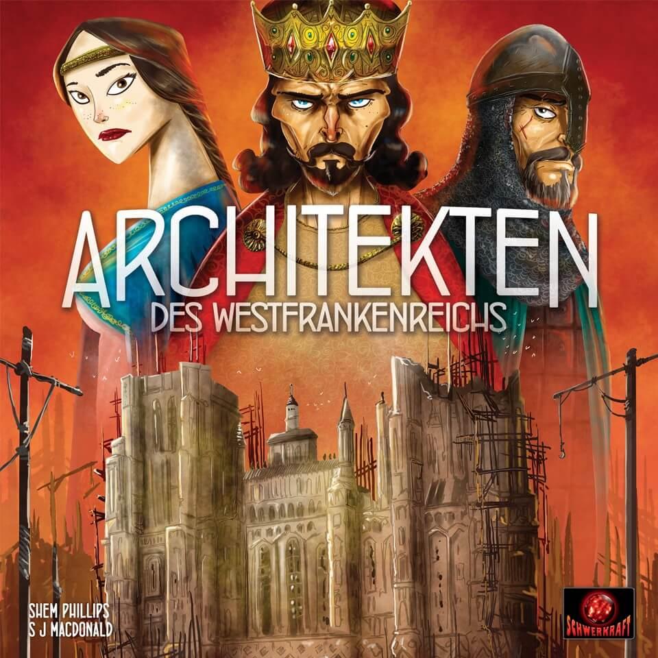 Schachtel Vorderseite- Architekten des Westfrankenreichs