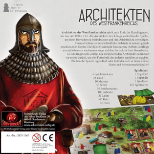 Schachtel Rückseite- Architekten des Westfrankenreichs