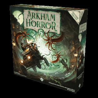Schachtel Vorderseite- Arkham Horror - 3. Edition