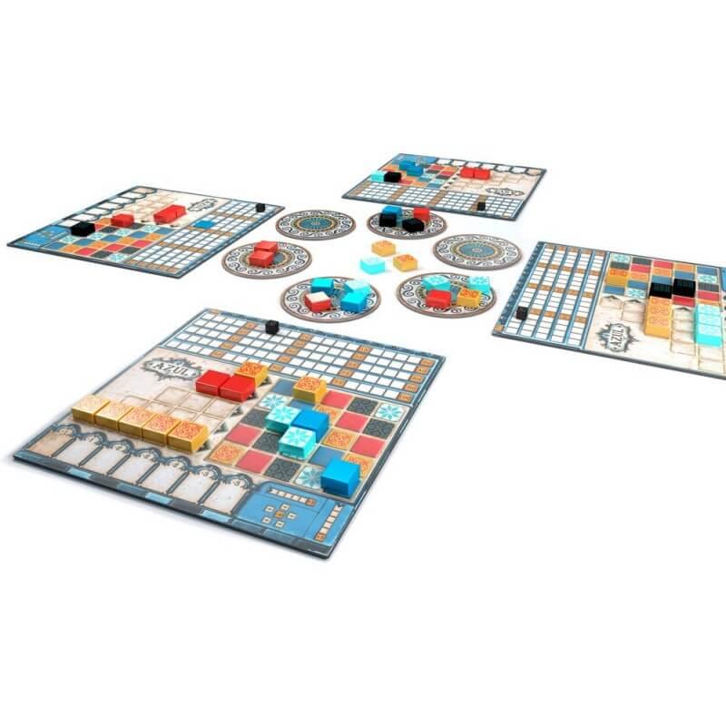 Spielertableaus, Spielmaterial- Azul