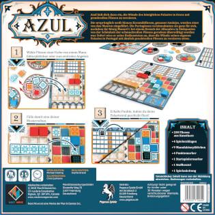 Schachtel Rückseite- Azul