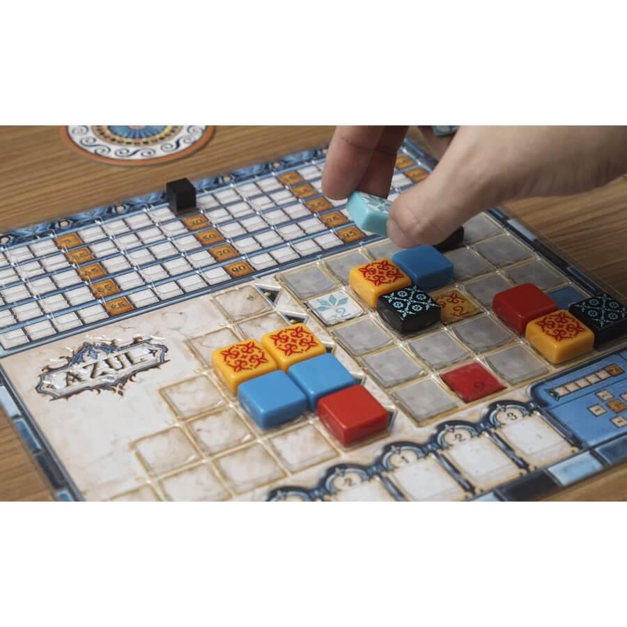 Kunststoffauflage für den Spielplan- Azul: Das gläserne Mosaik