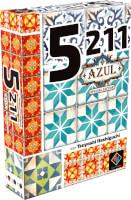 Schachtel Vorderseite, linke Seite - 5211 - Azul Edition