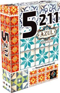 Schachtel Vorderseite, linke Seite- 5211 - Azul Edition