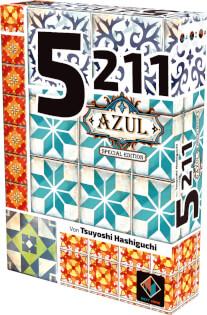 Schachtel Vorderseite, rechte Seite- 5211 - Azul Edition
