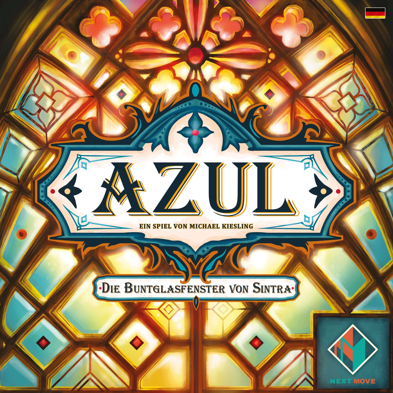 Schachtel Vorderseite- Azul - Die Buntglasfenster von Sintra