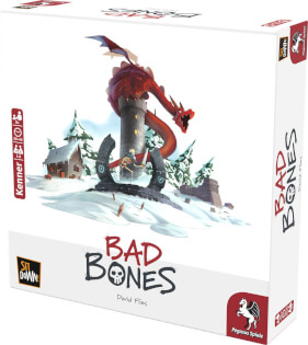 Schachtel Vorderseite- Bad Bones