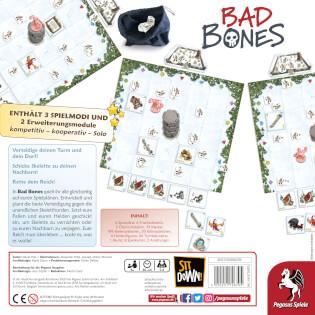 Schachtel Rüclseite- Bad Bones