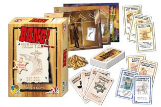 Schachtel und Spielmaterial- Bang!