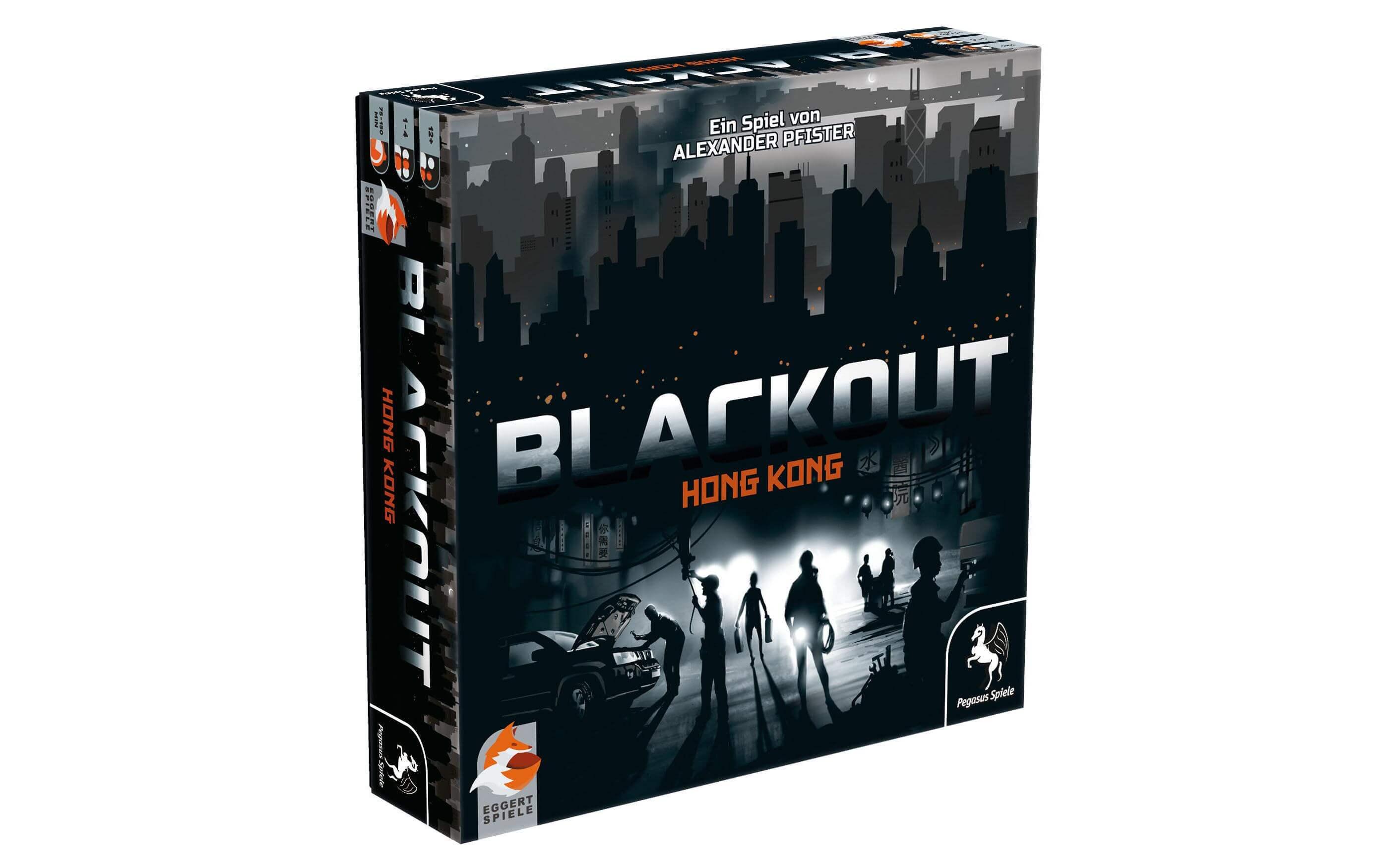 Schachtel Vorderseite- Blackout - Hong Kong