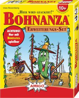 Schachtel Vorderseite- Bohnanza - Erweiterungs-Set