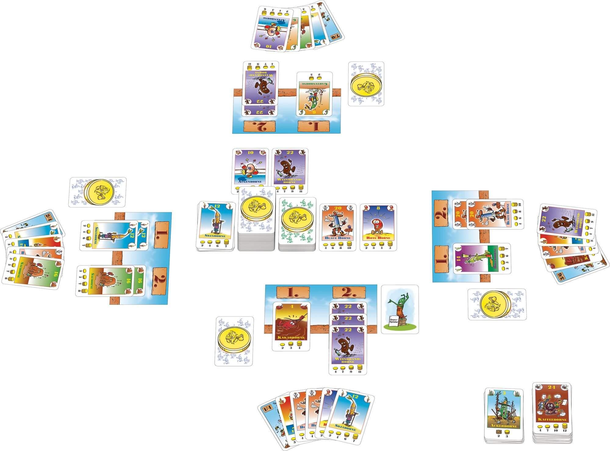 Spielkarten- Bohnanza - Erweiterungs-Set